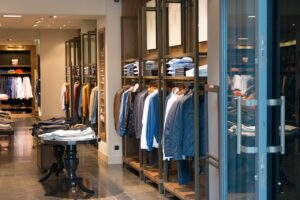 Commercial cleaning for clothes shops and department stores