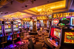 Cleaning service for casinos and betting shops